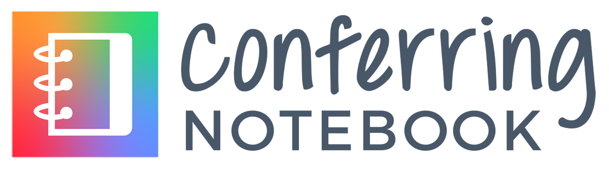 ConferringNotebook logo